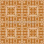 Geometría abstracta cuadrada Estampado Vectorial Sin Costura