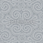 Elegant Lace Seamless Vector Pattern Design