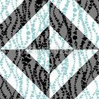 Segunda-feira Chuvosa Design de padrão vetorial sem costura