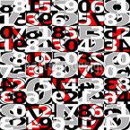 Zahlen Vektor Muster