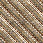 Étnica E Tribal Design de padrão vetorial sem costura