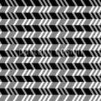Horizontal Zigzag Seamless Vector Pattern Design