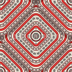 Überlappende Quadrate Muster Design