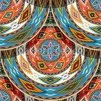 African Tile Design Pattern