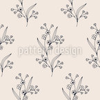 Spring Flower Vector Pattern