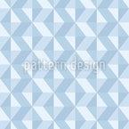 Triângulo Abstrato Design de padrão vetorial sem costura