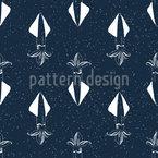 Tintenfisch Musterdesign