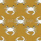Crabs Seamless Pattern