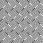 Shifted Maze Seamless Vector Pattern Design