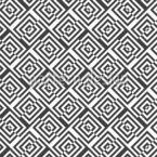 Labirinto Deslocado Design de padrão vetorial sem costura