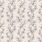 Süße Blume Vektor Muster
