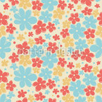Flower Love Seamless Pattern