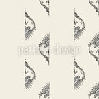 Cropped Embellishments Seamless Vector Pattern Design