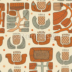 Natürliches Gitter Muster Design