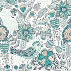Nature Love Seamless Vector Pattern Design