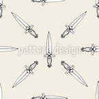 Knifes Seamless Vector Pattern Design