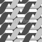 Gift Ribbon Seamless Vector Pattern Design