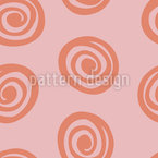 Minimalistic Roses Seamless Vector Pattern Design
