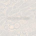 Paisley Nórdico Design de padrão vetorial sem costura