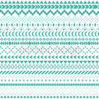 Shapes In Lines Seamless Pattern