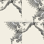 Ornamental Tiles Design Pattern