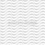 Soft Wavy Stripes Seamless Vector Pattern Design
