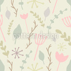 Botanic Forest Pattern Design