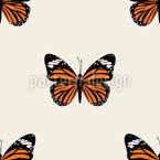 Butterfly Repeating Pattern