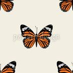 Schmetterling Rapportiertes Design