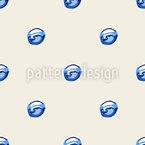 Water Seamless Vector Pattern Design