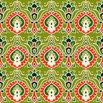 Arabesker Garten Muster Design