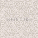 Bewildered Hearts Sand Seamless Vector Pattern Design