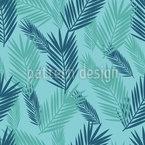 Palmblatt Nahtloses Vektormuster