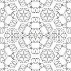 ソフトな装飾 シームレスなベクトルパターン設計
