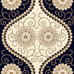Royal Flower Seamless Pattern