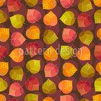 Wir lieben Den Herbst Nahtloses Vektormuster