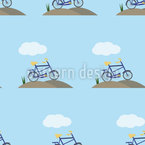 Bicycle And Cloud Repeat