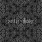 Teia de Aranha Geométrica Design de padrão vetorial sem costura