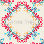 Abstract Liquid Seamless Vector Pattern Design