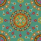 Wayuu Ethno Ozean Muster Design