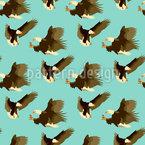 Adler Nahtloses Vektormuster