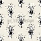 Karaoke Night Pattern Design