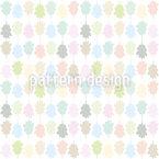 Eichenblatt Muster Design