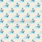 Wellenreitende Anker Designmuster