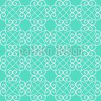 Kreuzende Herzen Muster Design