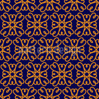 Simple Moroccan Flower Pattern Design