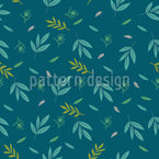 Leaves In Autumn Wind Seamless Vector Pattern Design