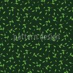 Blätter Im Frühlingswind Rapportiertes Design
