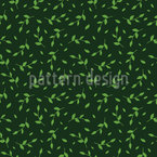 Leaves In Spring Wind Seamless Vector Pattern Design