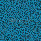 Einfacher Leopard Nahtloses Vektormuster